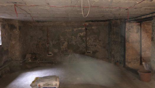 Фото гидроизоляция подвала ул.С.Петлюры
