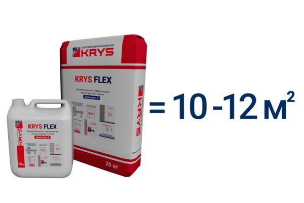 Низкий расход KRYS Flex