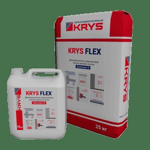 KRYS Flex - гнучка двокомпонентна гідроізоляція