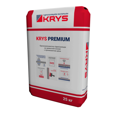 Проникающая гидроизоляция KRYS PREMIUM
