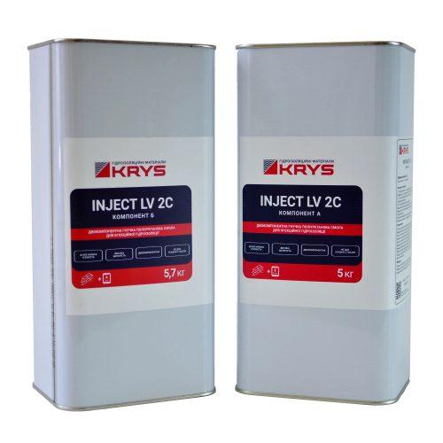 KRYS INJECT LV 2C для инъекционной гидроизоляции